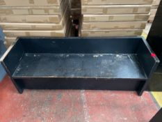 Selection Wooden Heavy Duty Bench Seating