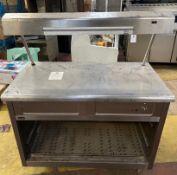 Lincat GX3 Hot Cupboard Plate Warmer
