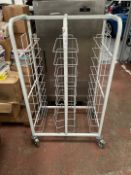 Mobile Metal Storage Rack