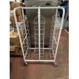 Mobile Metal Storage Rack