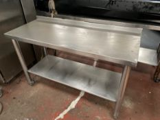Stainless Steel Mobile Prep Station