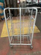 Craven Mobile Metal Storage Rack