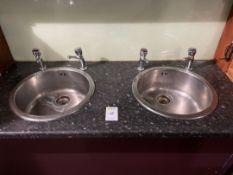 Round Sink Bowls x 2