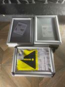 Qty Aluminium Photo Frames