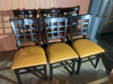 Wooden Chairs X 6