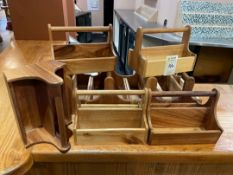 Selection Of Sauce Bottle Holders x 9
