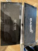 Boxed Casio SE-S100 Rlectronic Cash Register