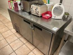 Williams Counter Style Refrigerator (Stainless Ste