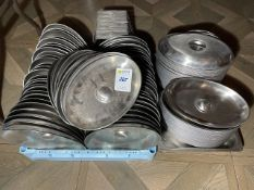 Qty Of Stainless Steel Oval Plate Covers