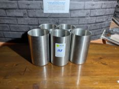 Stainless Steel Wine Coolers x 5