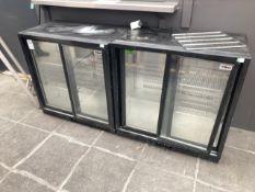 Back bar fridges