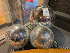 Selection Of Mirror Balls