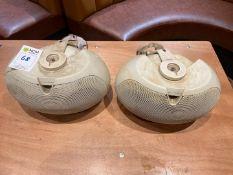 Electro Voice EVID 4.2 Speakers x 2