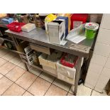 Stainless Steel Prep Station
