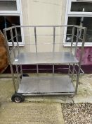 Mobile Stainless Steel Storage Trolley