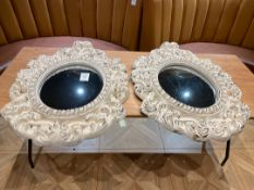 Decorative Mirrors x 3
