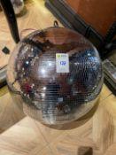 Large Mirror Ball