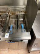 Blue Seal Twin Station Deep Fat Fryer