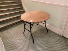 Trestle tables x 4
