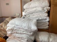 Bedlinen and towels