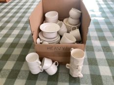Dinner service and Miscellaneous crockery