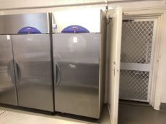 Williams single door commercial freezer