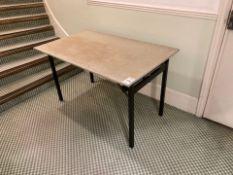 Trestle tables