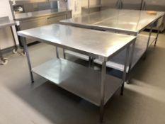 Preparation table