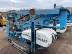 Nifty Lift (2013) TD120T DAC Trackdrive Spider Lift