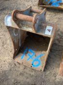 600mm Excavator Digging Bucket