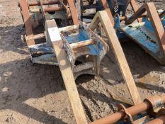 Excavator fork extension