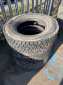 Miscellaneous tyres x 3