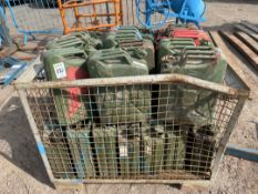 Qty Jerry Cans & Stillage cage