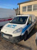 Peugot Partner Diesel Van (2014)