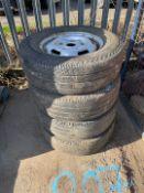 Transit wheels & Tyres x 4