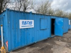 9.5mtr x 2.73mtr Transportable Site Office