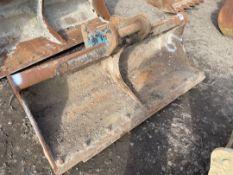 """72"""" Excavator Grading Bucket"""