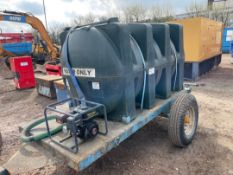 Garic Towable Dust Suppression / Water Storage Bow