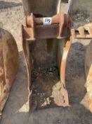 """18"""" Excavator Digging Bucket"""