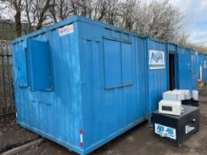 9.5mtr x 2.8mtr Transportable Site Office