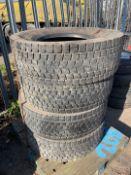 Bridgestone Tyres x 4