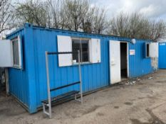 9.5mtr x 2.2mtr Transportable Site Office