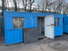 5.89mtr x 2.2mtr Transportable Site Office