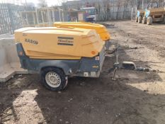 Atlas Copco XAS 67 Air compressor