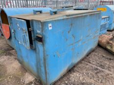 Garic 2000 ltr Fuel Storage Bowser