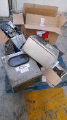 Pallet of machine parts