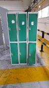 Single Lockers x 3