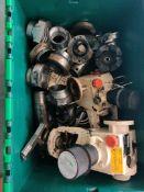 Box of parts various parts