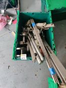 Box of machinery spares parts