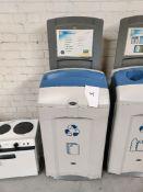 Recycling bin waste paper